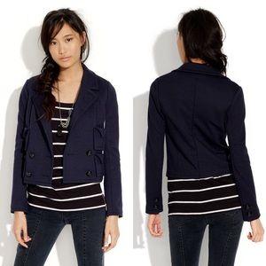 Alexa Chung for Madewell Diana cropped jacket